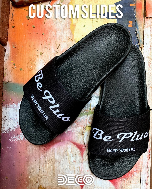 Custom Slide Sandals | Custom design, Slide sandals, Enjoy