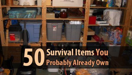 50 Survival Items You Probably Already Own