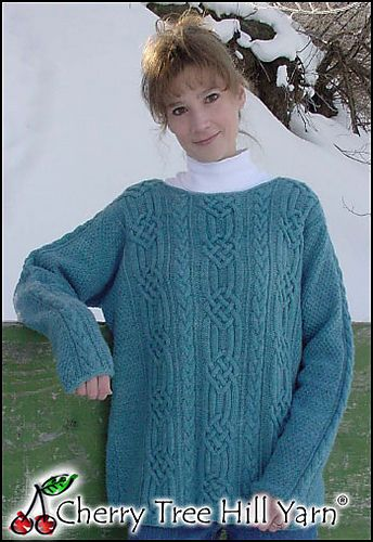 795c78029d175c Ravelry  Silk Cable Tunic pattern by Barbara Scott