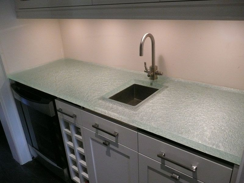 Glass Kitchen Counter With Images Glass Kitchen Glass