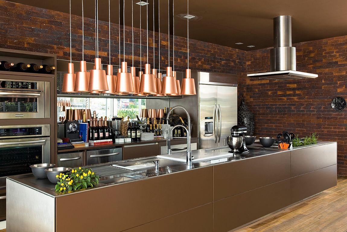 Cozinhas Modernas Com Bancada Bancadas De Cozinha Em Quartzo