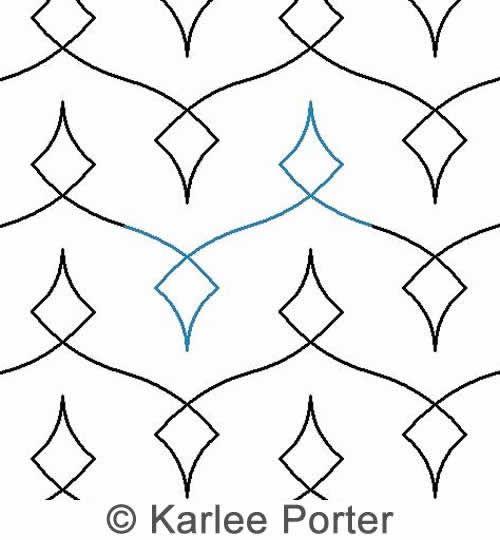LOOPY DIAMOND 2  ... by Karlee Porter