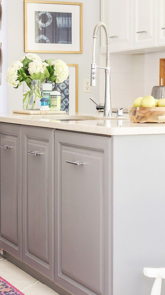 A Review of My Milk Paint Cabinets - 6 Month Follow Up   Blogger ...