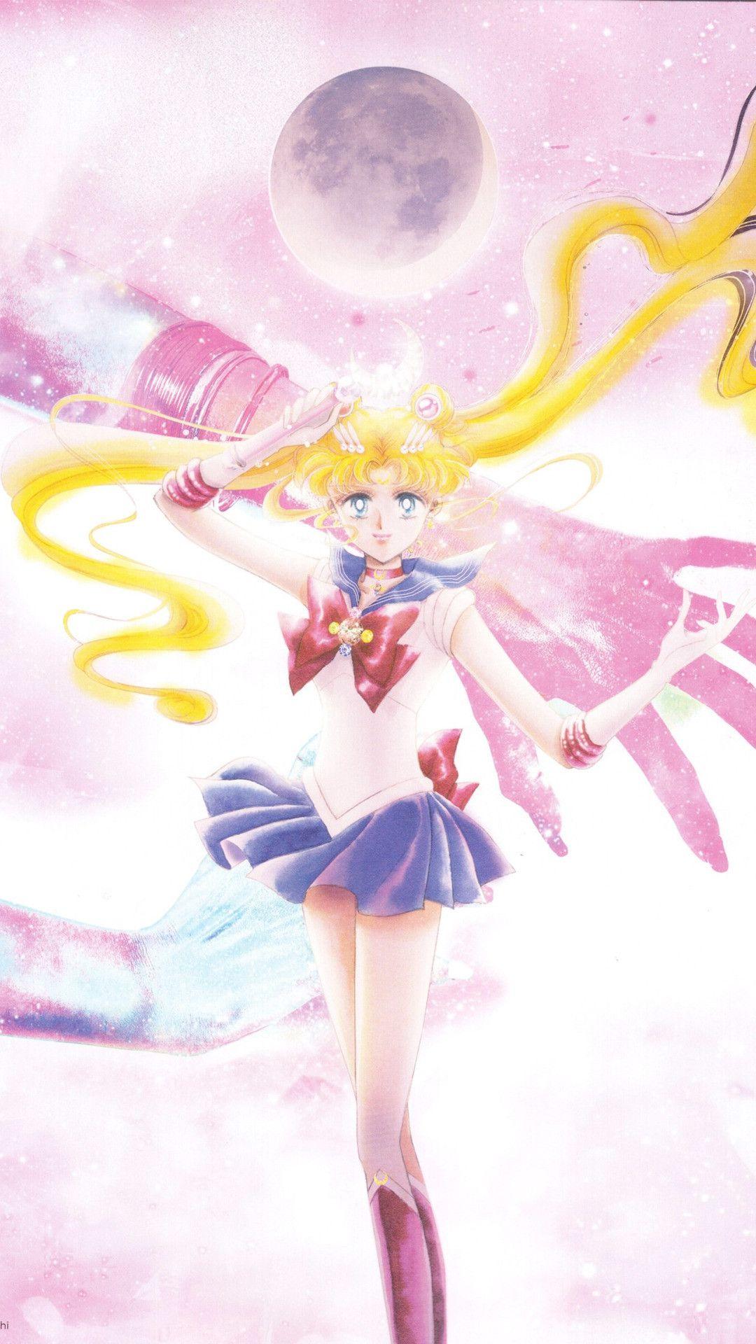 Iphone Aesthetic Lockscreen Sailor Moon Wallpaper ...