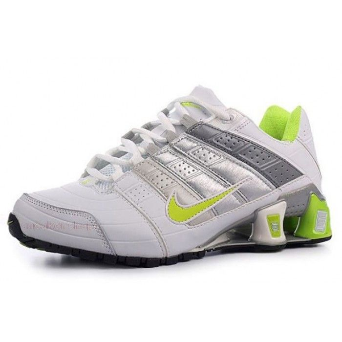 Find this Pin and more on Nike Womens Nike Shox NZ 2 White Green