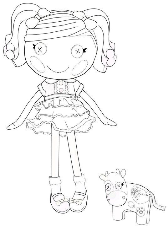 The Best Lalaloopsy Dolls Coloring Pages | Imágenes para pintar ...