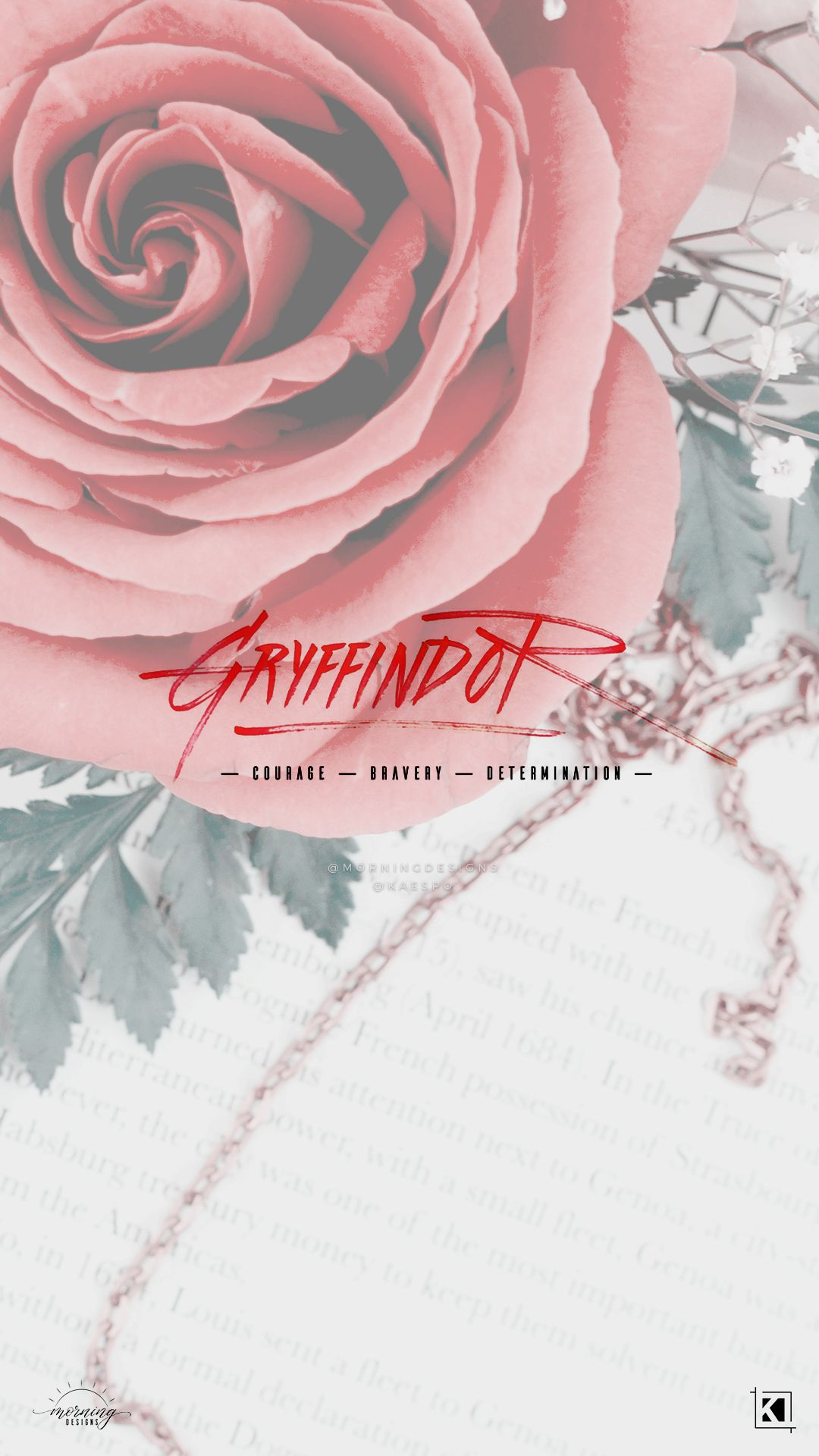Floral Gryffindor Aesthetics Phone Wallpaper Background Collab By Kaespo Morningd Harry Potter Wallpaper Phone Harry Potter Wallpaper Harry Potter Pictures