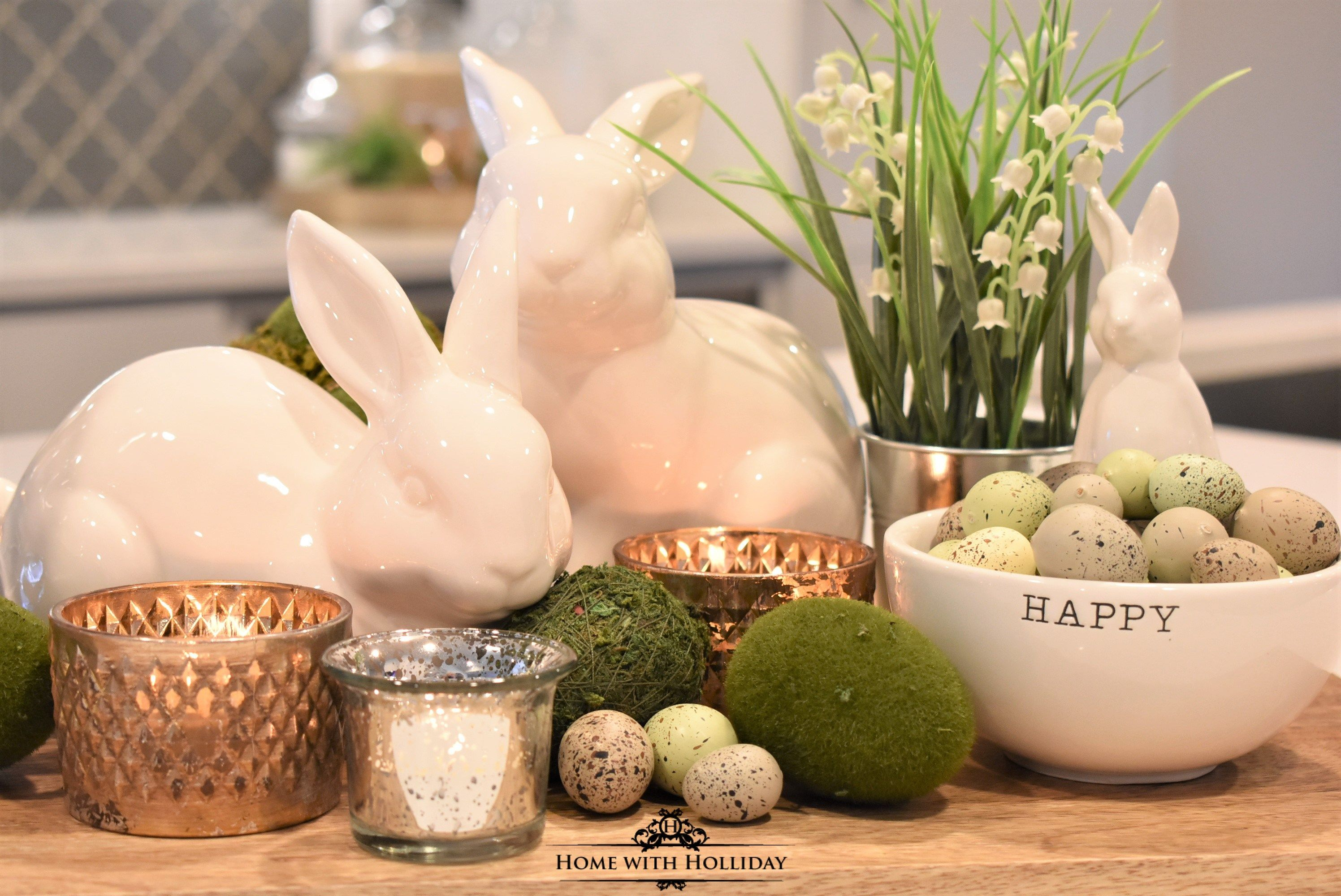 Tips for Creating Simple Spring or Easter Decor | Easter ...