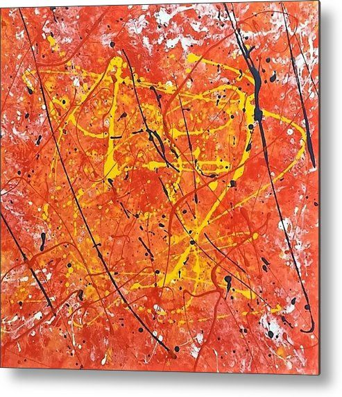 Abstract An Abstract Oil Painting Printed On To A 1 16 Thick Aluminium Sheet To Produce A High Gloss Effect By Kelly Goss Abstract Oil Painting Abstract Art