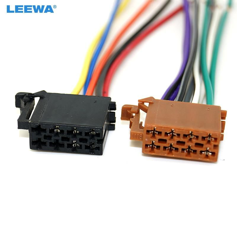 Car Stereo Wiring Harness Connectors
