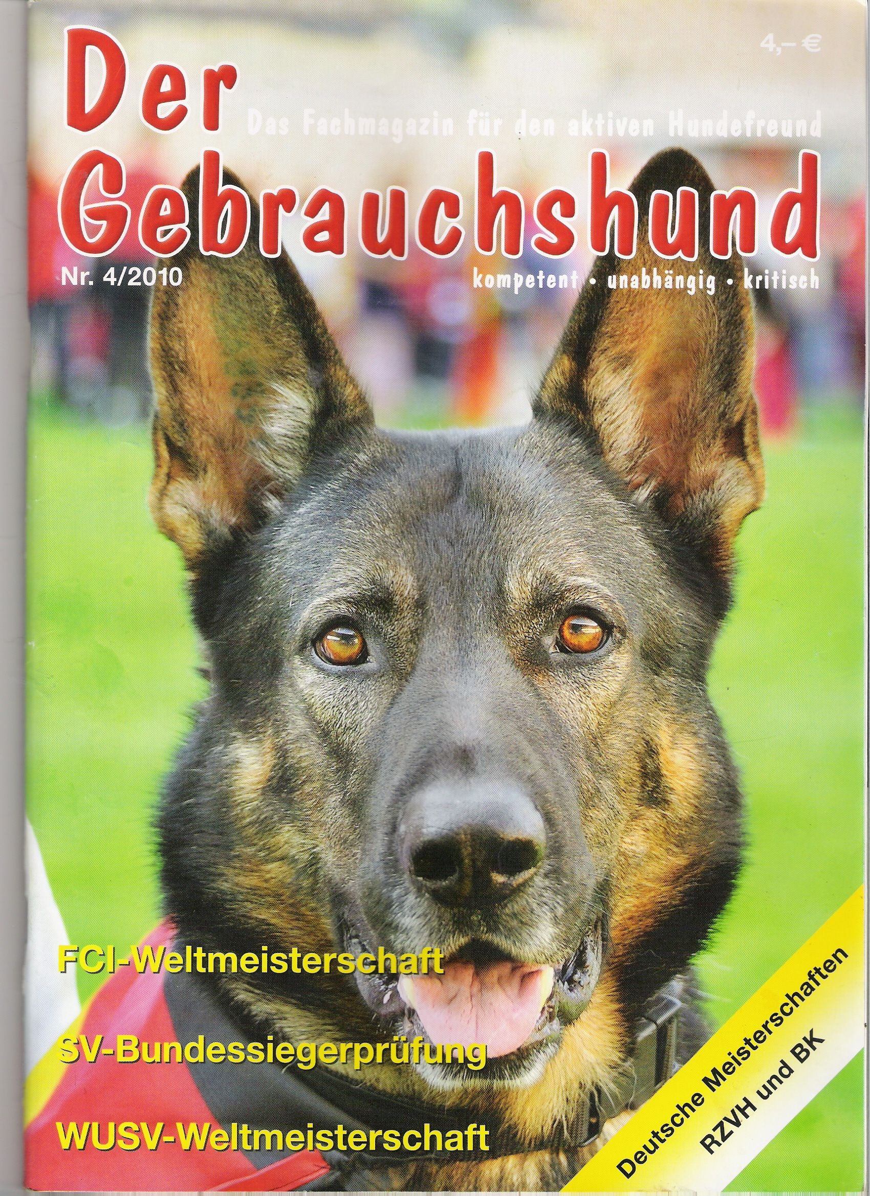 german shepherd magazine God's Dog Is A German Shepherd