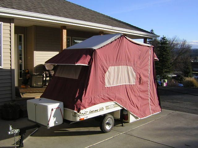 roll a home motorcycle camping trailers