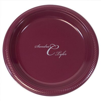 Personalized Monogrammed Plastic Plates Create Beautiful \u0026 Unique Plastic Plates at Affordable Prices  sc 1 st  Pinterest & Personalized Monogrammed Plastic Plates #Graduation2014 | High ...