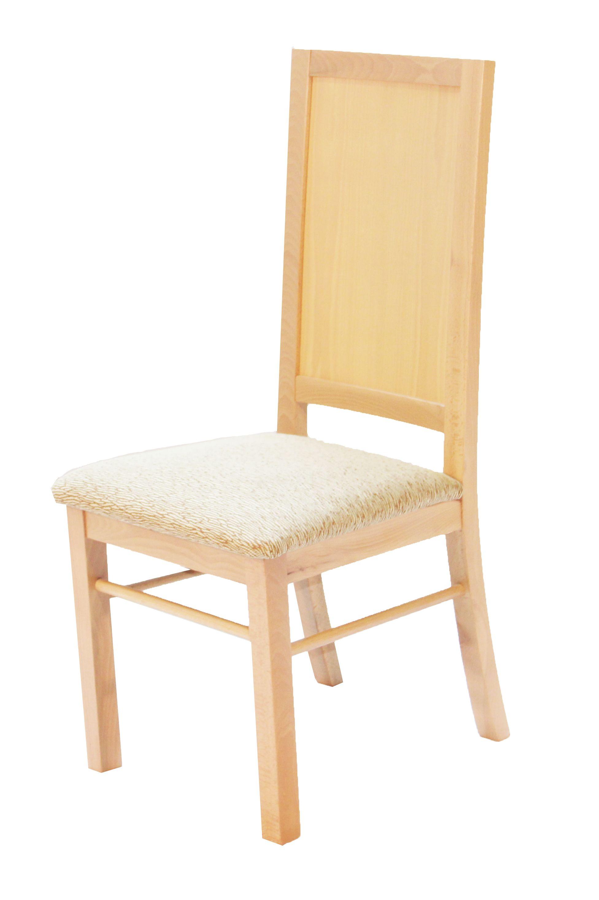 Silla comedor, fabricada en madera con asiento tapizado | Sillas ...