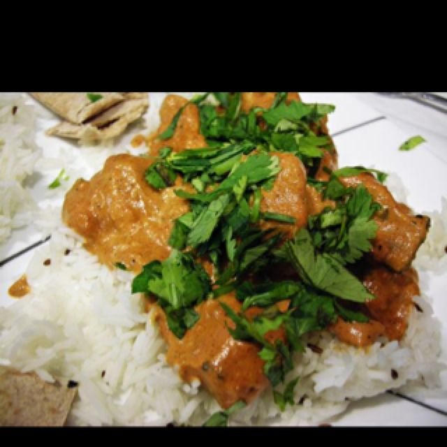 Chicken Tikka Marsala its whats cooking for dinner at the Klucars