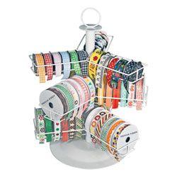 Ribbon Embellishment Carousel Ribbon Storage Craft Storage