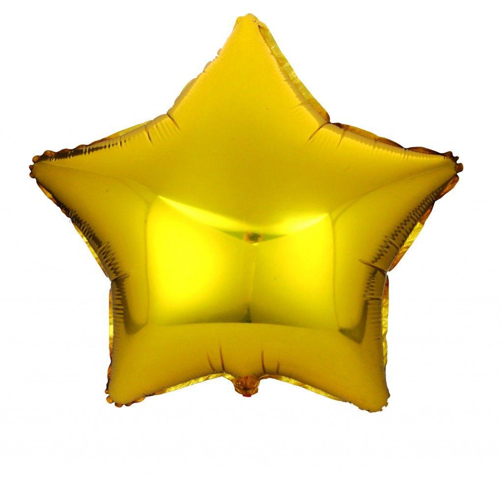 Gold Star Foil Balloons #FoilBalloons