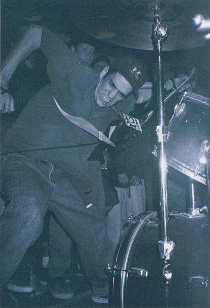 Outspoken - straight edge hardcore band from Orange County, CA