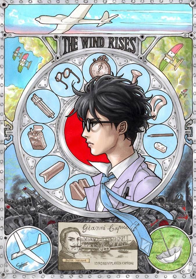 風立ちぬ Takumi Ghibli ジブリ 風立ちぬ Y ジブリ イラスト