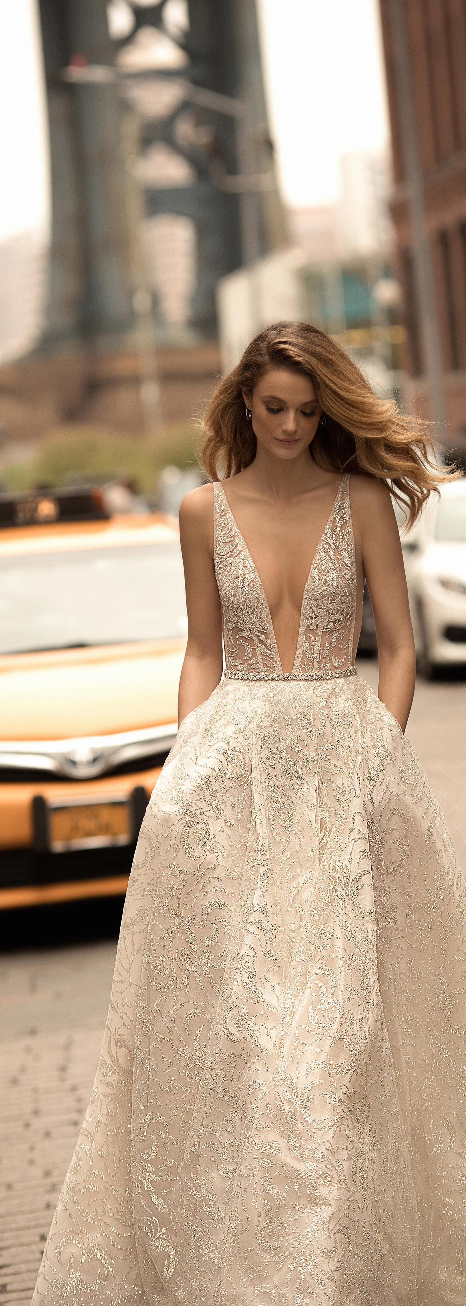 BERTA 2018 bridal collection. Style 18-03 | BERTA 2018 | Pinterest ...