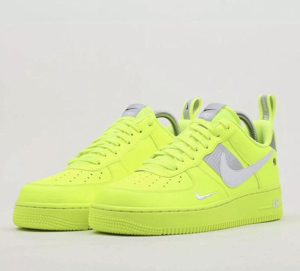 new styles 5f1ac e584d Nike Air Force 1  18 LV8 UV SZ 11 Bright Neon Volt White AJ9505-700   fashion  clothing  shoes  accessories  mensshoes  athleticshoes (ebay link)