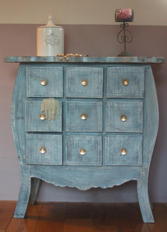 Une fée...carton - meubles en carton - Martine Simard, Commode