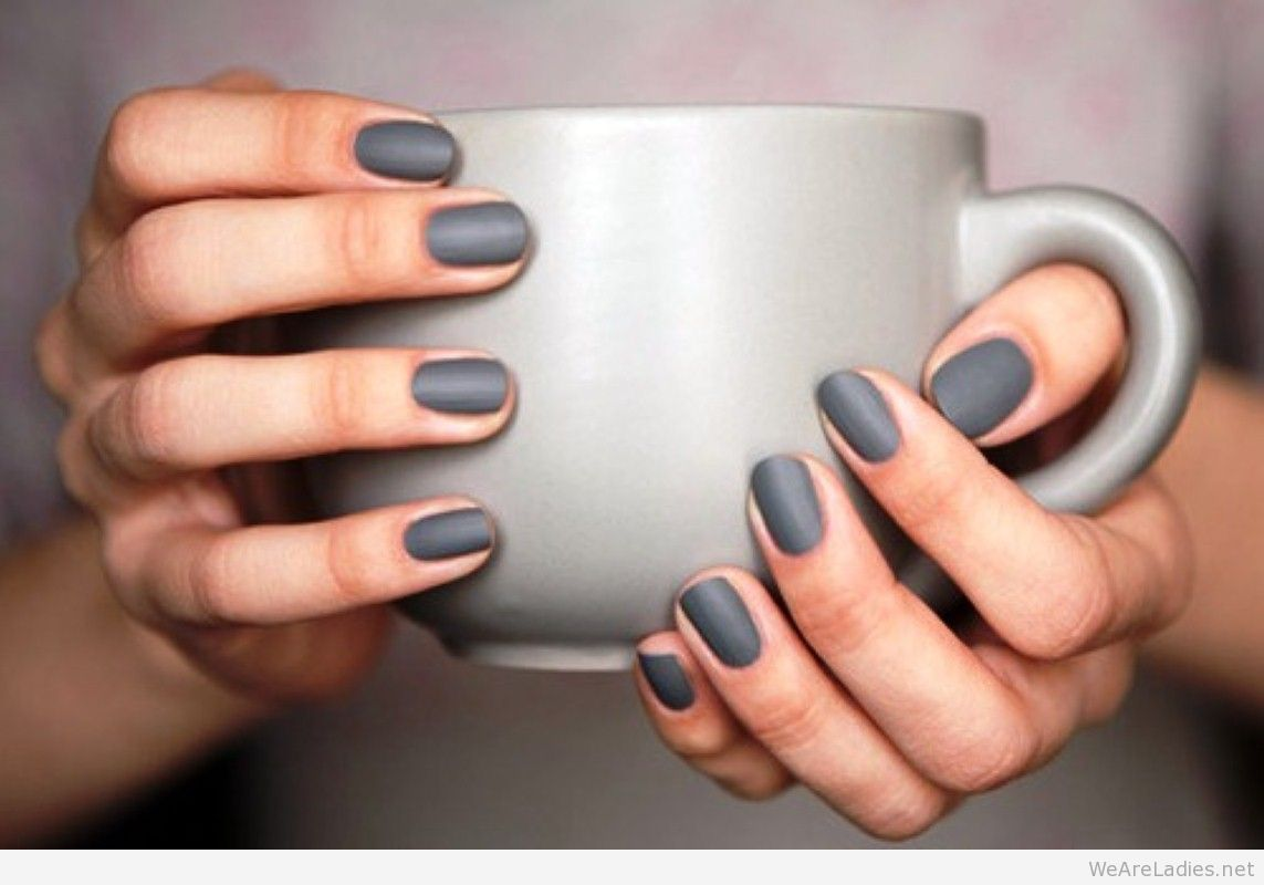 5 Minimalist Nails Trends | Nail trends, Fancy and Grey matte nails