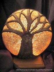 Gourd Luminaries & Lamps | Chrysalis God Gourds