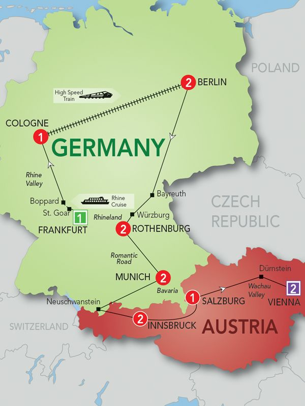 Map Of Austria And Germany 28 Images Map Of Germany And Austria Maps Pinterest Germany