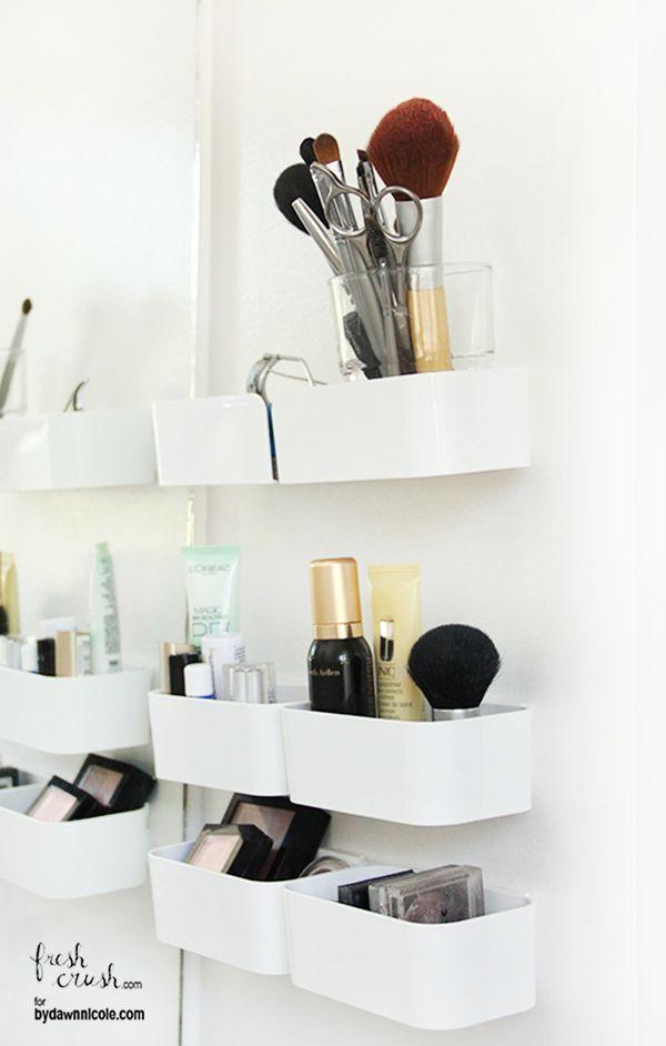 Rangement Maquillage De 60 Idées Géniales à Copier