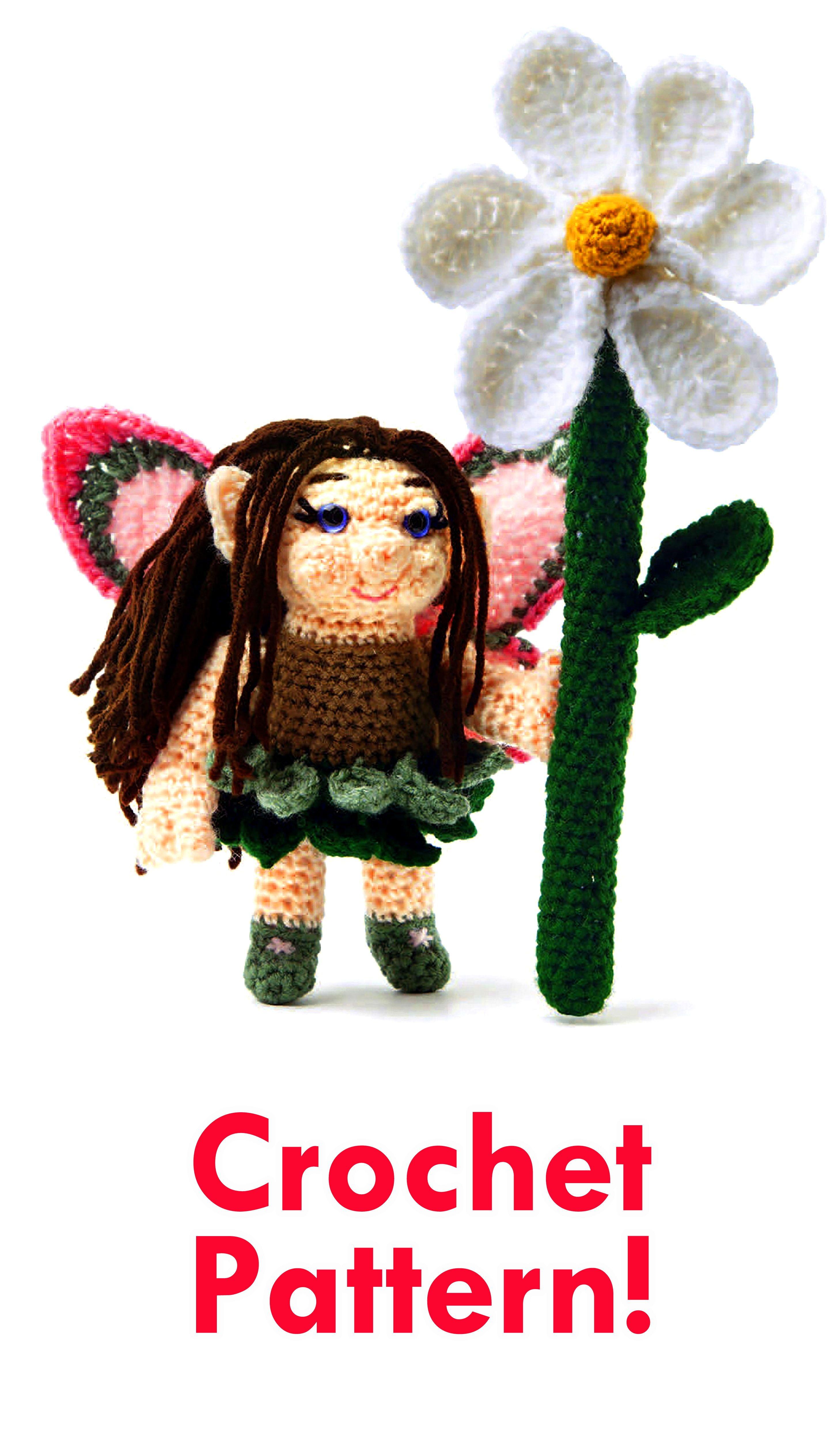 Fairy Crochet Pattern Fairy Amigurumi Pattern Amigurumi