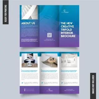 تحميل بروشورات وفلايرات جاهزة للتعديل Brochure Design Template Brochure Template Brochure