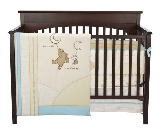 Classic Pooh Crib Set @Carey Bean