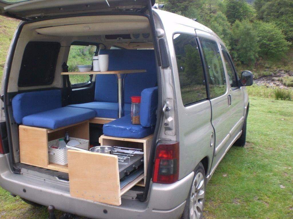 Resultats De Recherche D Images Pour Berlingo Camper Fourgon Amenage Camping Car Petit Fourgon Amenage Vehicule Amenage