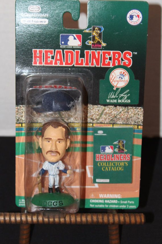 Vintage Headlines Collectible Figurine Wade Boggs New in