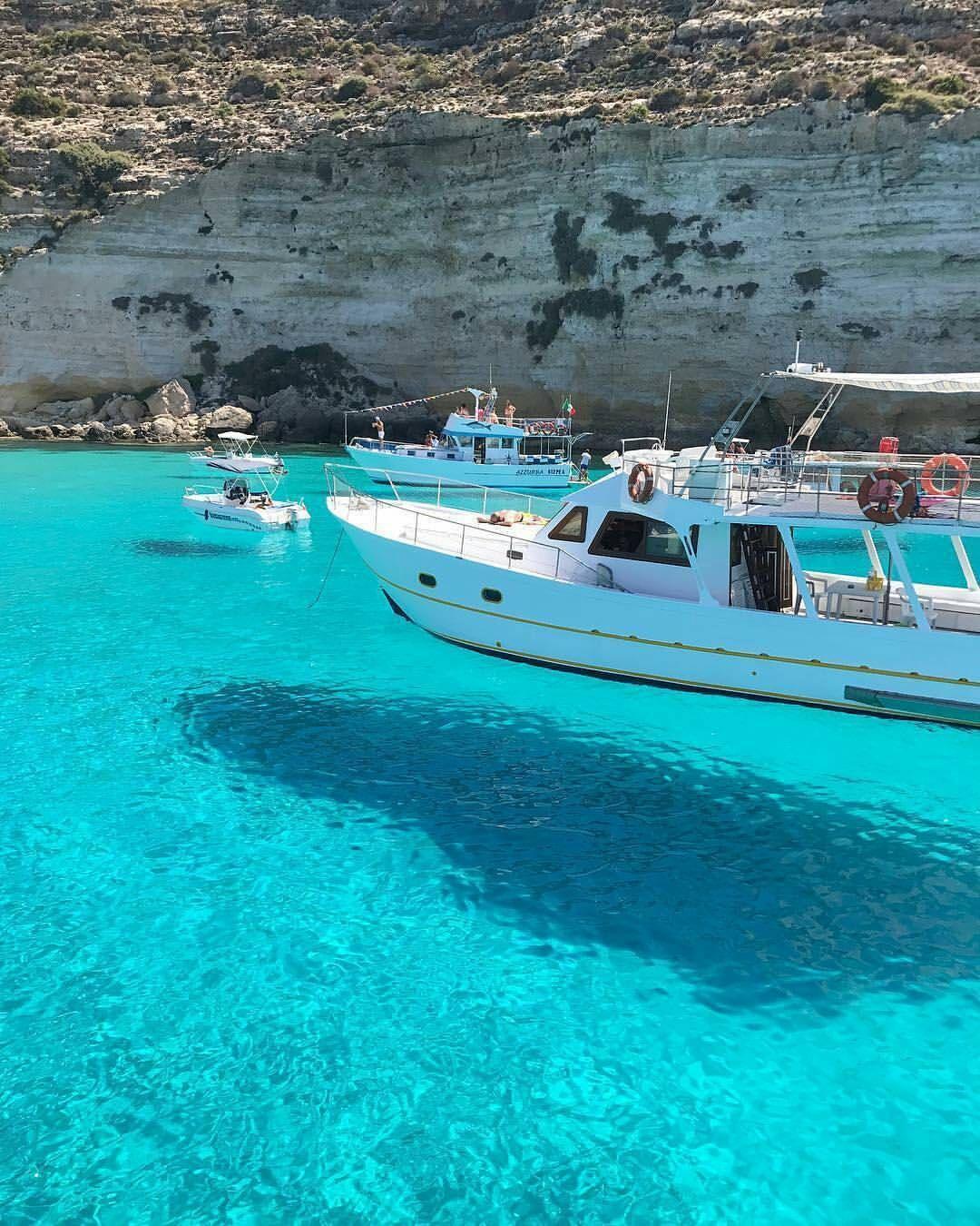 Flying Boats At La Tabaccara Lampedusa Island Sicily Repost From