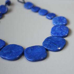 Lola Rose Myles Necklace in Sapphire Blue Magnesite - £90.00 http://www.lolarose.co.uk/myles-necklace