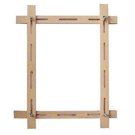 Рама для натяжения шелка регулируемая, 65х65 см (арт.: 2 ...