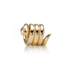 abalorio pandora dorado