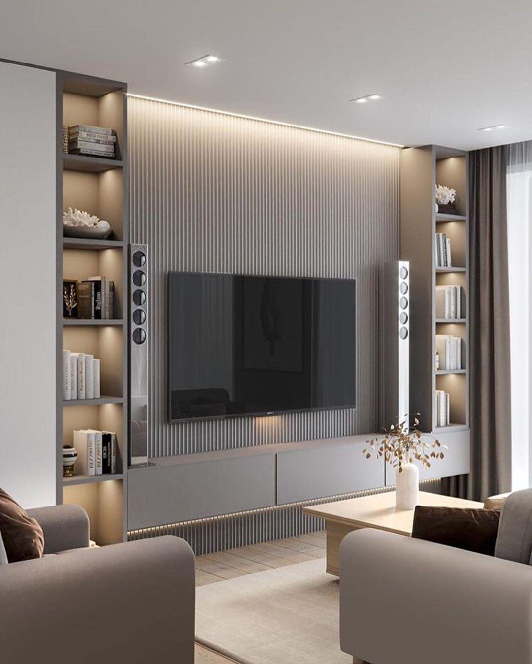 My house   Tv room design, Living room design decor, Luxury living ...