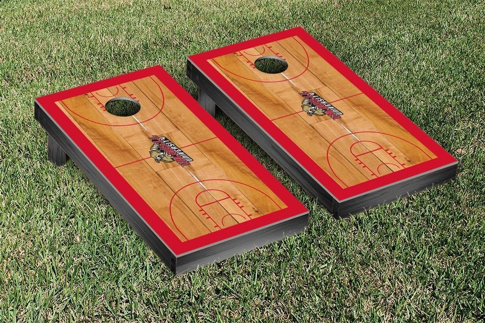 Caldwell University Cougars Basketball Court Cornhole Game Set