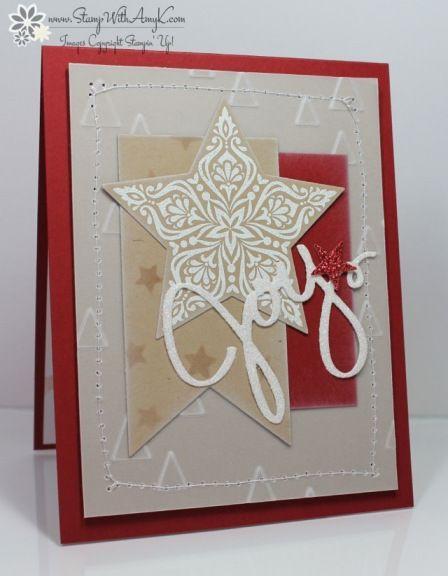 stampin' up bright  beautiful joy card  creative
