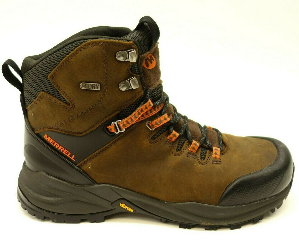 2478699a548 New Merrell Phaserbound US 10.5 EU 44.5 Mid Hiking WP Athletic Mens ...