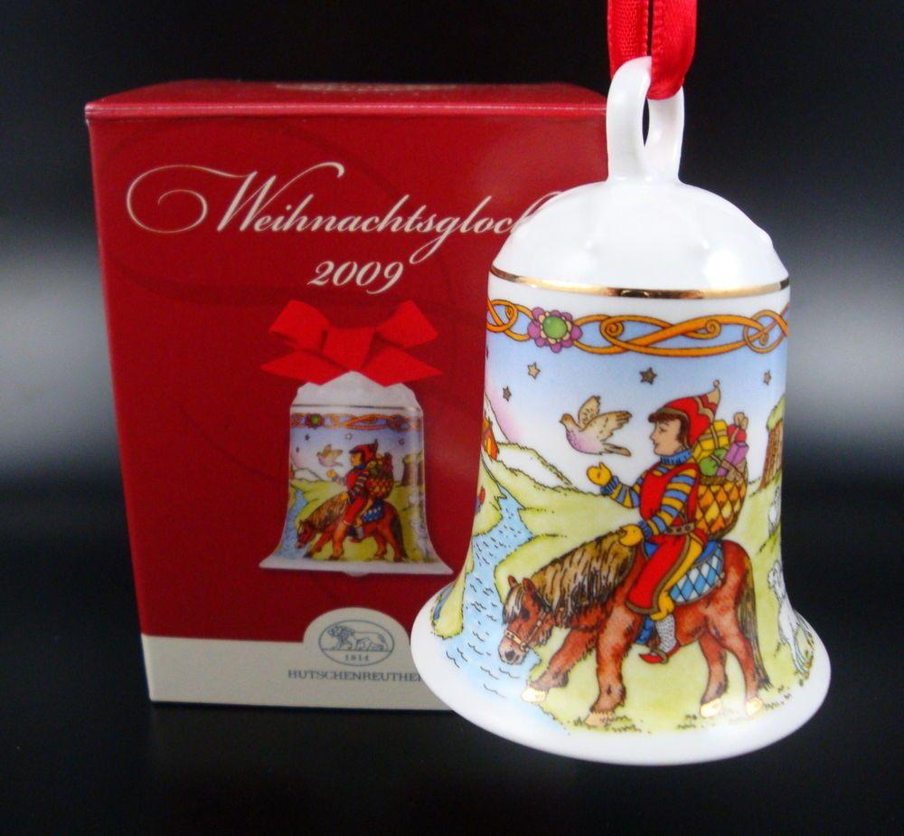Hutschenreuther XMAS Christmas Bell Ornament Weihnachtsglocke Glocke ...