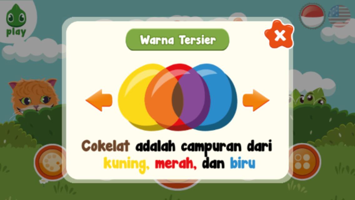 Warna tersier adalah warna yang dihasilkan dari campuran satu warna warna tersier adalah warna yang dihasilkan dari campuran satu warna primer dengan satu warna sekunder dalam ccuart Images