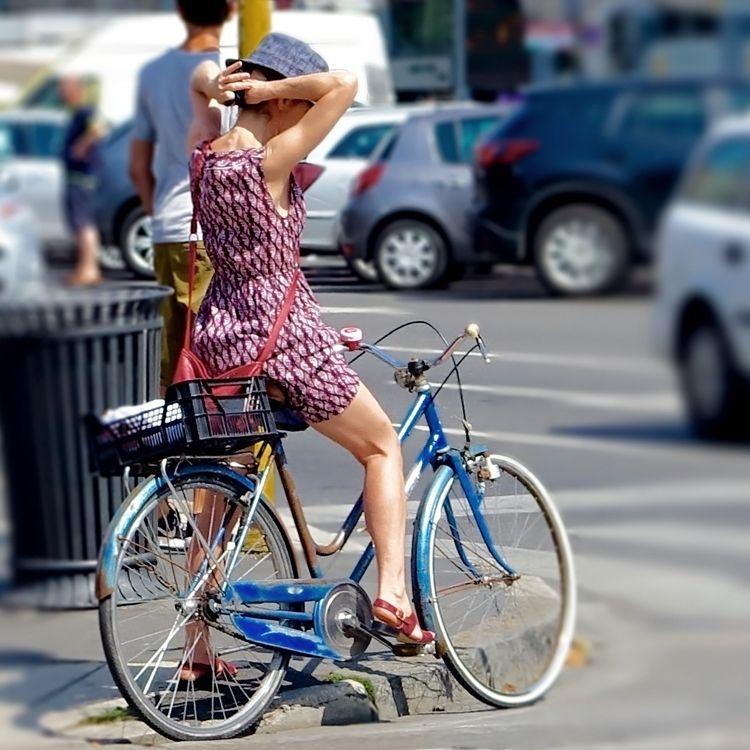 Bike Style In Milan