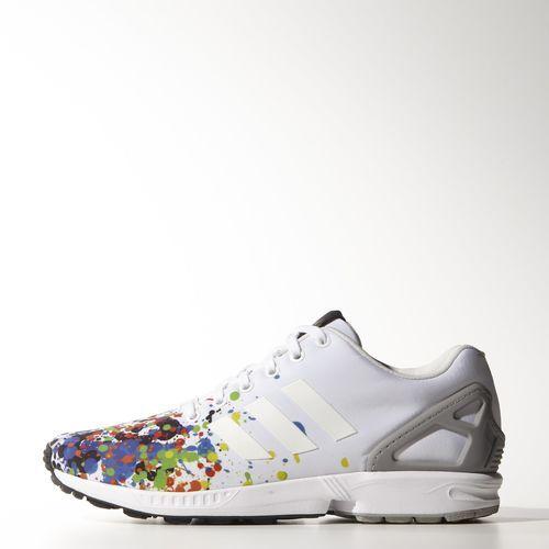 131a90d0e1224 adidas ZX Flux Shoes - White