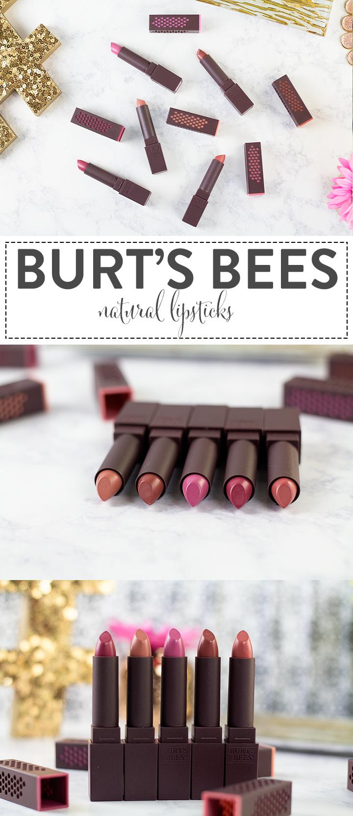 Burt's Bees Lipsticks NEW at Target! #NewFromBurts #ad