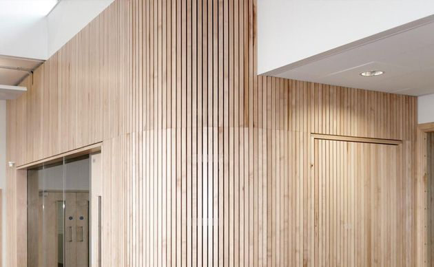 Slatted Timber Acoustic Wall Panels Acoustic Wall Panels Timber Wall Panels Acoustic Wall