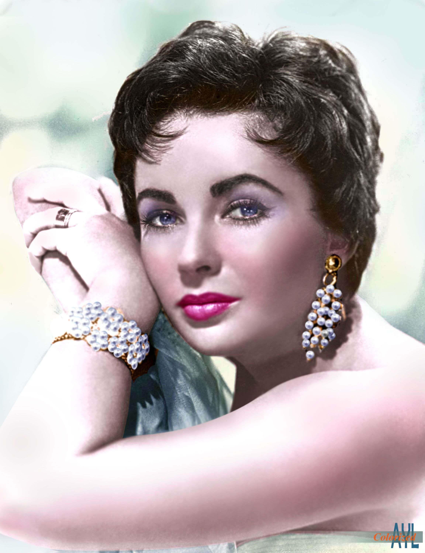 Elizabeth Taylor 1953 in 2020 Elizabeth taylor, Young
